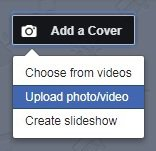 Facebook requires cover photos