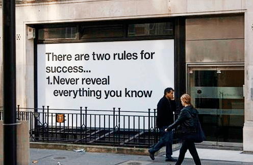 Target the right people and reveal the right information