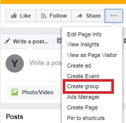 Look Beyond Your Facebook Page Create Groups