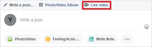 Set Up Your Facebook Live Broadcast and Go Live