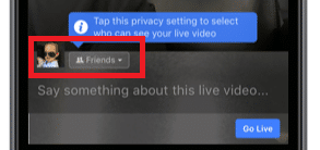make sure your live video is available to everyone