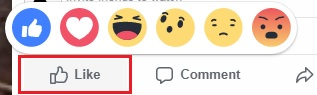"Ask viewers to ""Like"" your video and react using Facebook's Reactions feature"