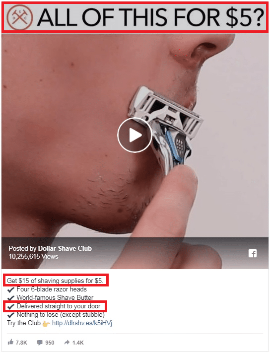Dollar Shave Club is that they will deliver grooming products like razors to your door