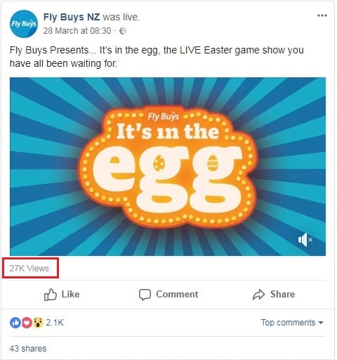 2k Facebook Reactions and 24K comments