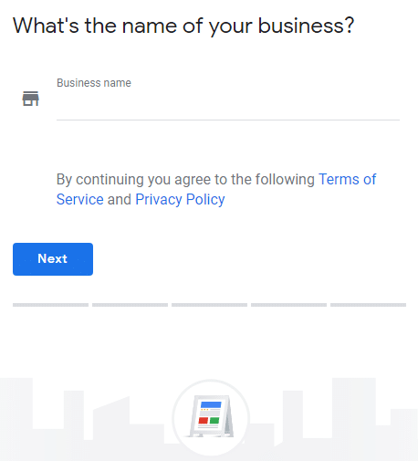 Name of your business