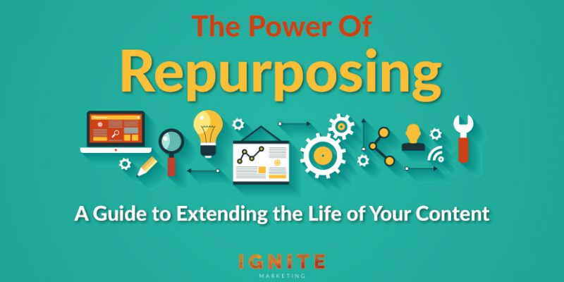The Power of Repurposing: A Guide to Extending the Life of Your Content