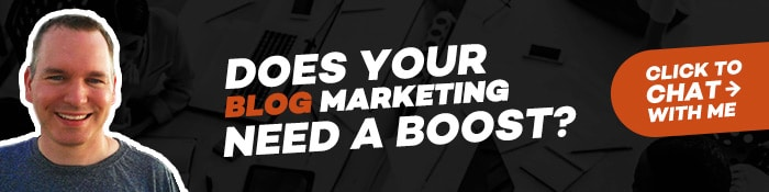 Does your blog marketing need a boost?
