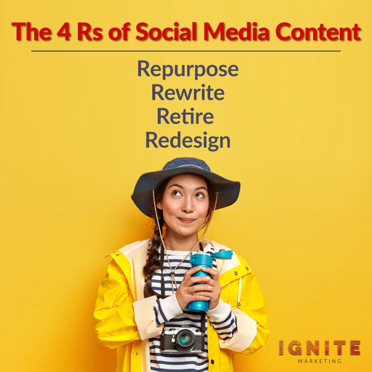 The 4 R's of Social Media Content