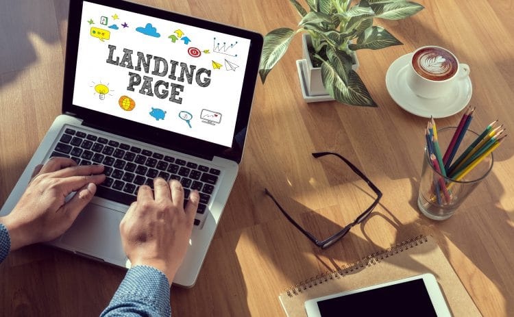 Create a high-quality landing page