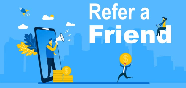 Ask existing patients for a referral