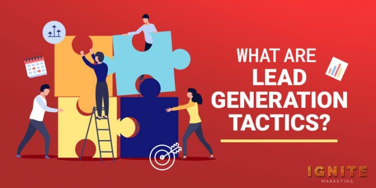what are lead generation tactics