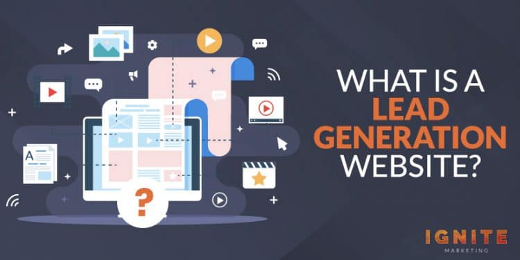 what is a lead generation website