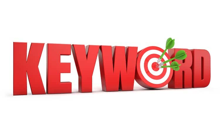 Target the right keywords.