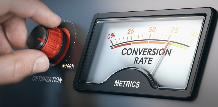 Optimize your website for conversions.