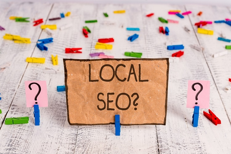 Build your local SEO.