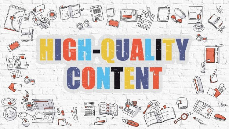 How to make high-quality content