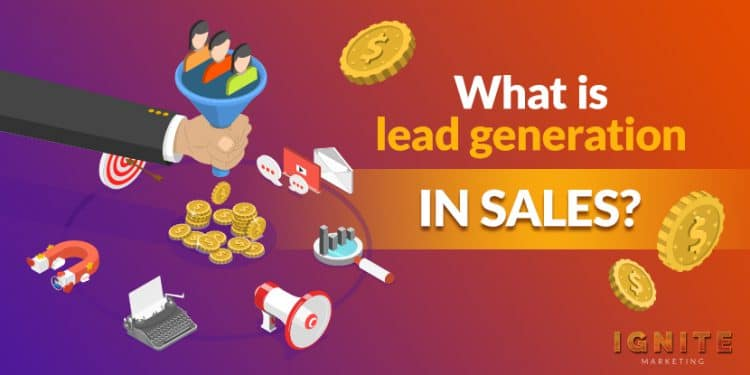 what is lead generation in sales