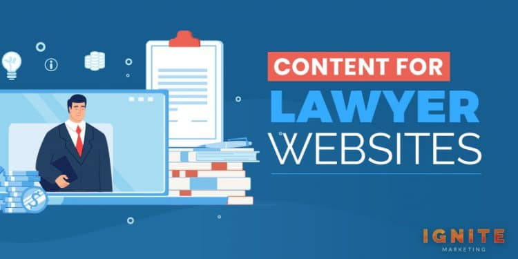 content for lawyer websites