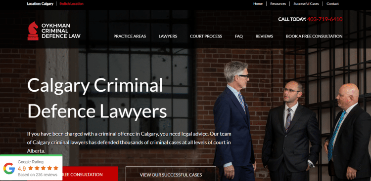 24 Cykhman Criminal Defense Law