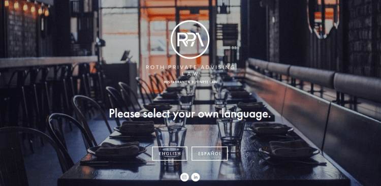 45 Roth Private Advising Restaurant Business Law