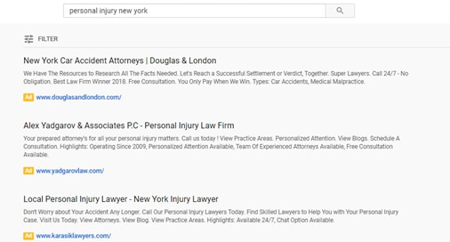 best youtube ad for lawyers