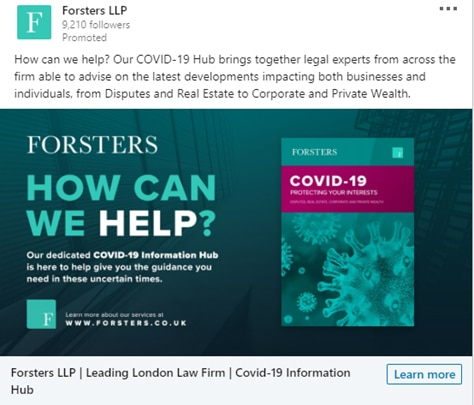 fosters llp ad