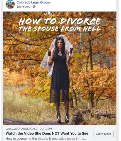 how to divorce the spouse ad