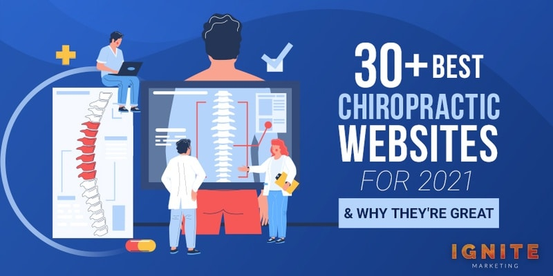 30+ Best Chiropractic Websites for 2021 & Why They're Great