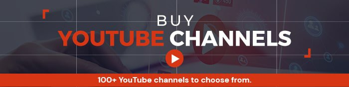 youtube channels for sale ad 3