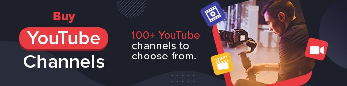 youtube channels for sale ad 4