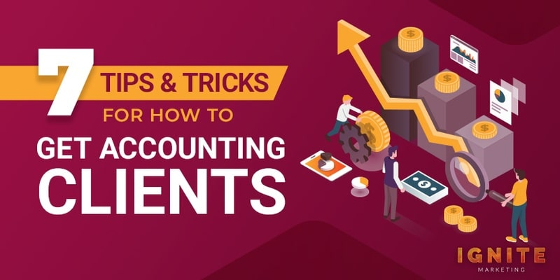 how to get accounting clients