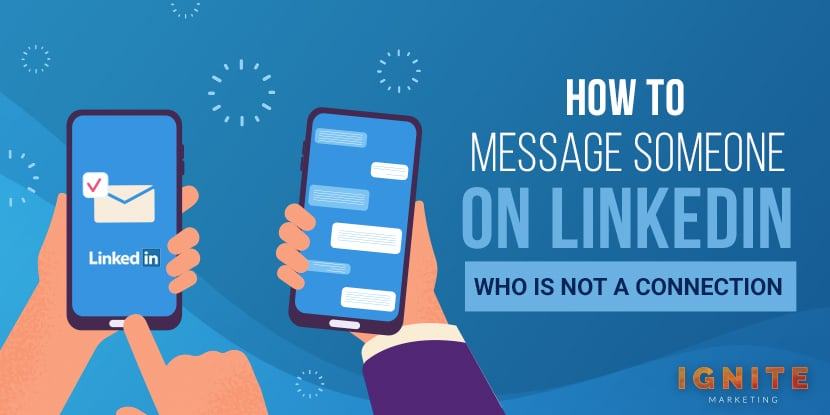 how to message someone on linkedin who is not a connection