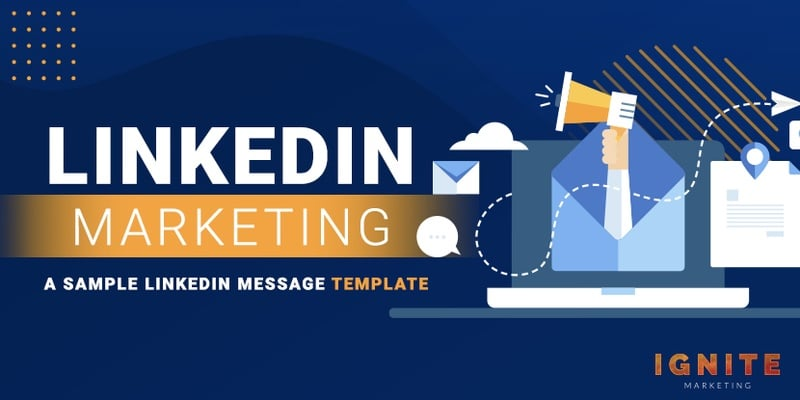sample linkedin message template